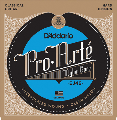 Cuerdas D'Addario Pro Arte Hard Tension