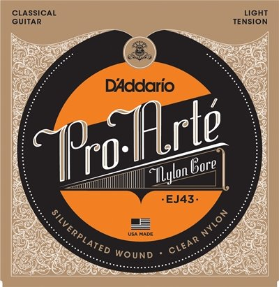 Cuerdas D'Addario PRO ARTE Light Tension Guitarra Clásica