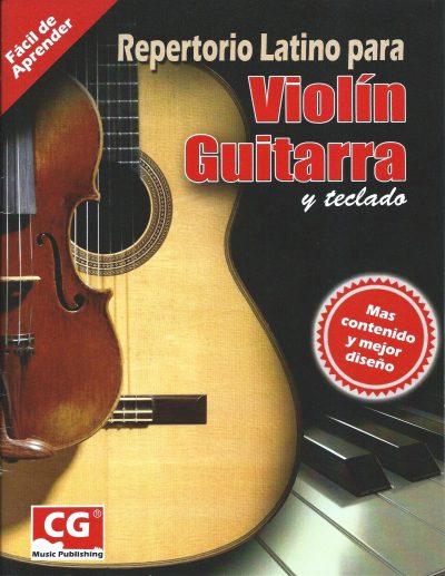 Repertorio Latino para Violín, Guitarra y Teclado