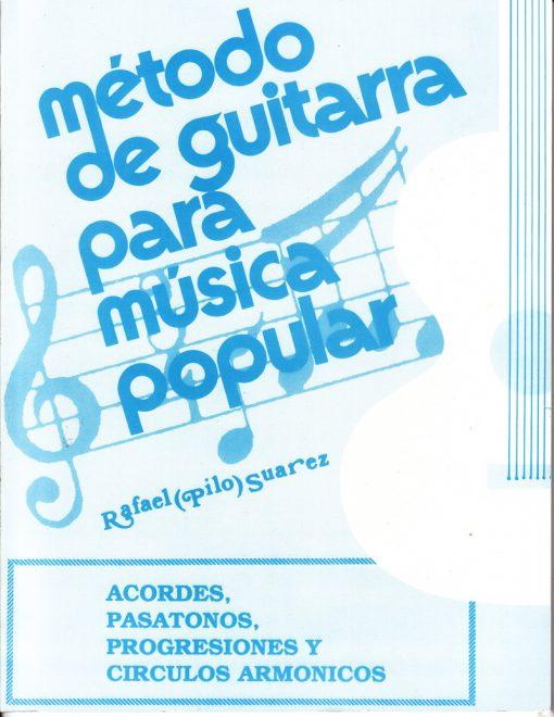 Método de guitarra para música Popular Acordes, Pasatonos, Progresiones y Circulos Armonicos