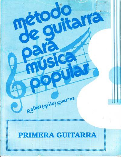 Método de Guitarra para música popular Primera Guitarra