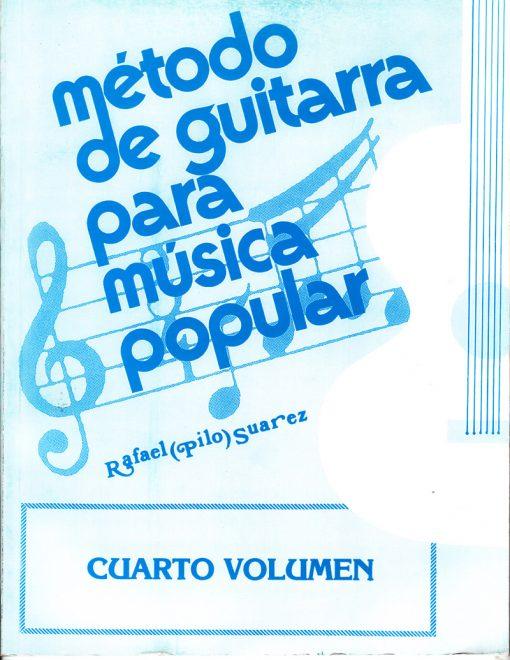 Método de Guitarra para música popular vol. 4
