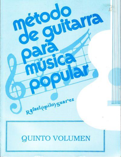 Método de Guitarra para música popular vol. 5