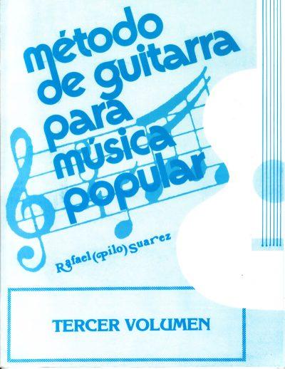 Método de Guitarra para música popular vol. 3