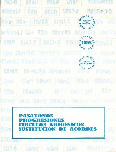 Pasatonos, Progresiones, Círculos Armónicos, Sustituciónde Acordes Para Guitarra