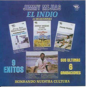 Jimmy Mejias El Indio, Honrando Nuestra Cultura, 15 Selecciones