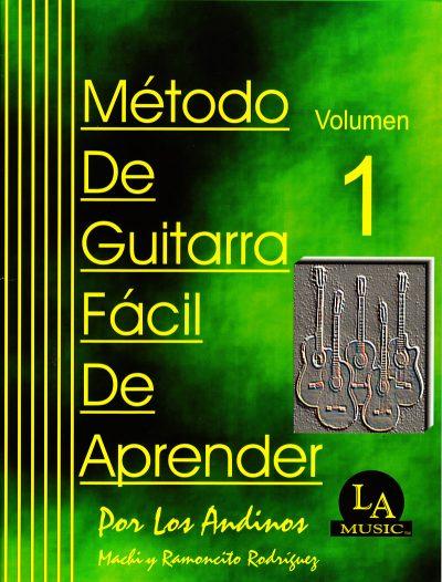 Método de Guitarra Fácil de Aprender Vol. 1