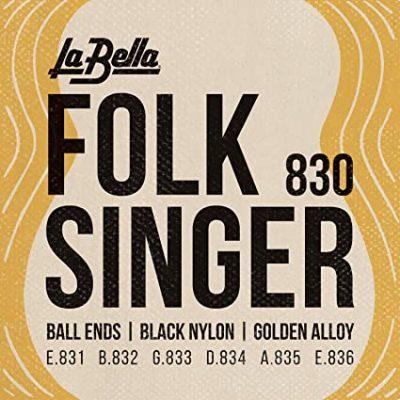 La Bella Folk Singer 830 para Guitarra Clásica