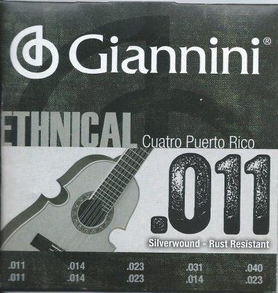 Set de Cuerdas Cuatro Puertorriqueño Giannini