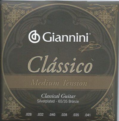 Giannini Medium Tension para Guitarra Clásica