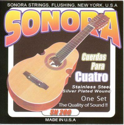 Set Cuerdas Sonora para Cuatro Puertorriqueño