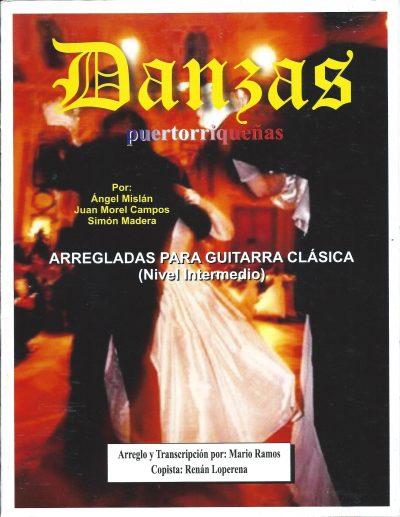 Métodos Danzas Puertorriqueñas arregladas para guitarra clásica