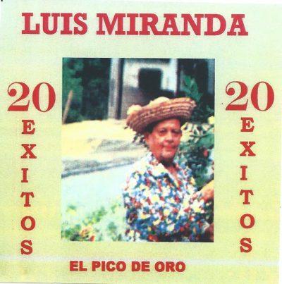 Luis Miranda 20 Exitos