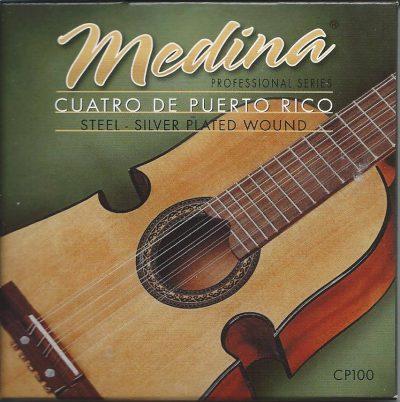 Set Cuerdas Cuatro Puertorriqueño Medina