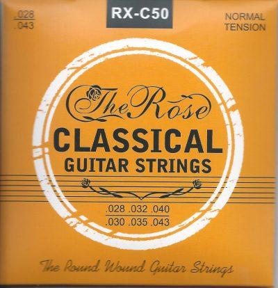 Set Cuerdas Guitarra Clasica The Rose