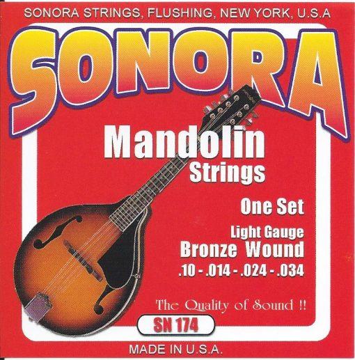 Set de Cuerdas Sonora Mandolina