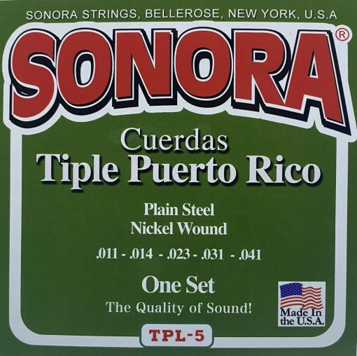 Sonora Set Tiple de Puerto Rico