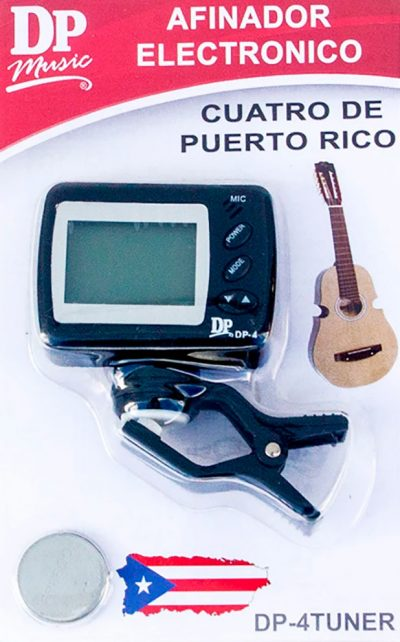 Afinador para Cuatro de Puerto Rico