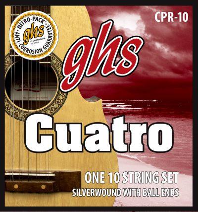 GHS Set Cuerdas Cuatro Puertorriqueño