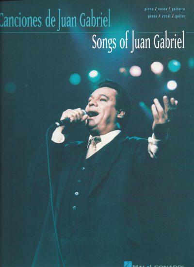 Partitura Canciones de Juan Gabriel